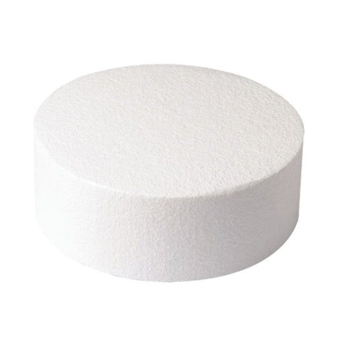 "Round Cake Dummy, Straight Edge, 8"" x 3"""