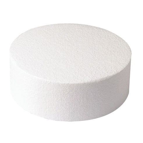 "Round Cake Dummy, Straight Edge, 10"" x 3"""