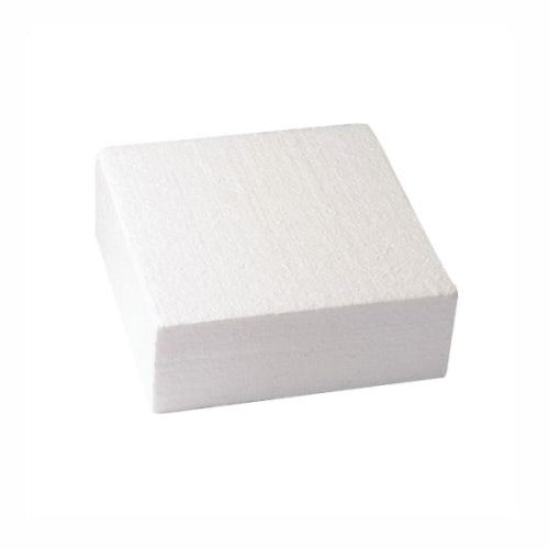 "Square Cake Dummy, Straight Edge, 5"" x 3"""
