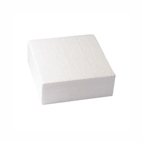 "Square Cake Dummy, Straight Edge, 4"" x 3"""