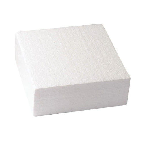 "Square Cake Dummy, Straight Edge, 9"" x 3"""