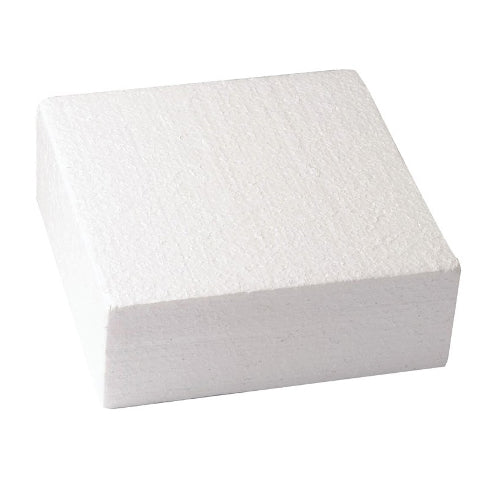 "Square Cake Dummy, Straight Edge, 10"" x 3"""