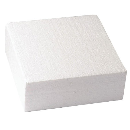 "Square Cake Dummy, Straight Edge, 12"" x 3"""