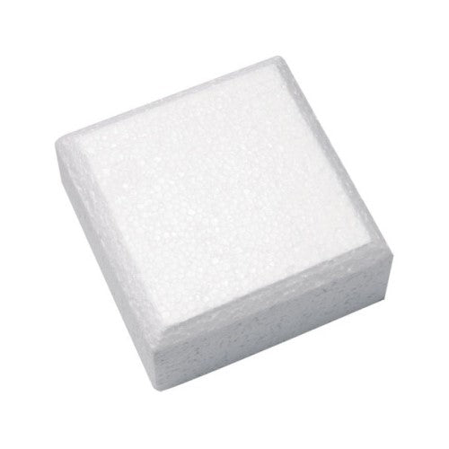 "Square Cake Dummy, Rounded Edge,  6"" x 3"""