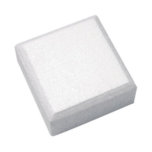 "Square Cake Dummy, Rounded Edge,  8"" x 3"""