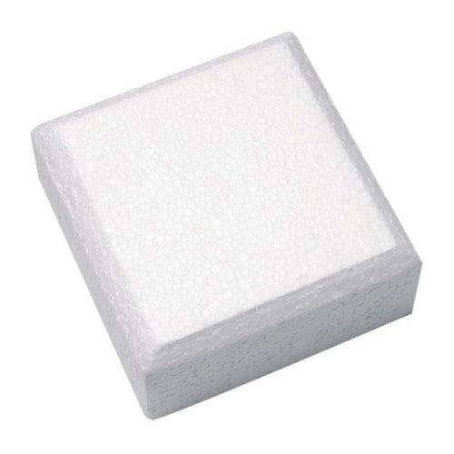 "Square Cake Dummy, Rounded Edge,  10"" x 4"""
