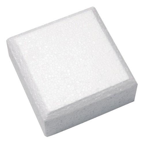 "Square Cake Dummy, Rounded Edge,  12"" x 4"""