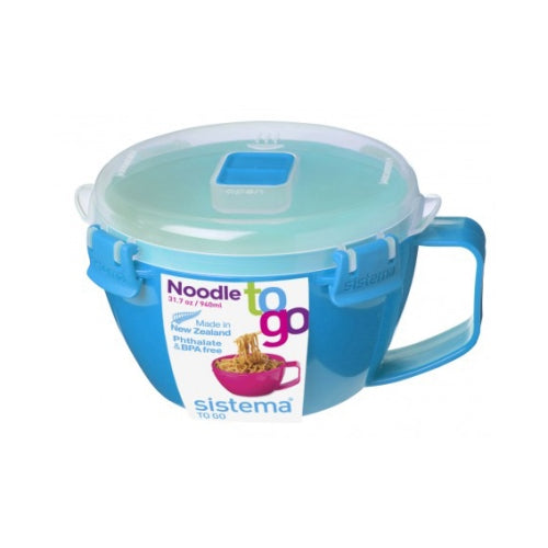Sistema Noodle Bowl To Go, 940ml, Aqua