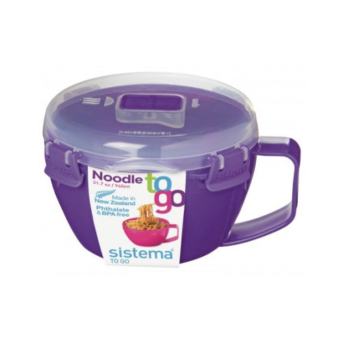 Sistema Noodle Bowl To Go, 940ml, Purple
