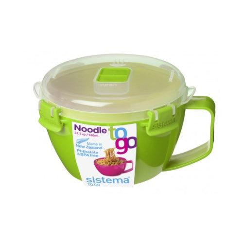 Sistema Noodle Bowl To Go, 940ml, Green