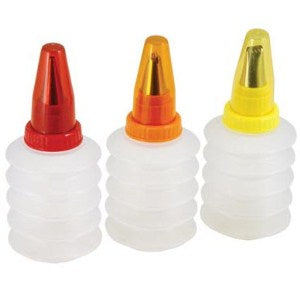 Tala Squeeze Decorating Bottles, Set Of 3