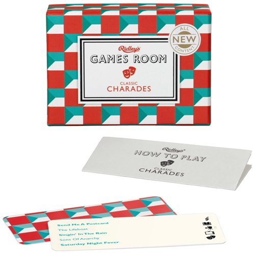 Ridley's Games Room 'Classic Charades' Board Game