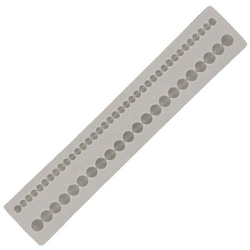 Alphabet Moulds, Beads Double Row