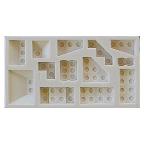 Alphabet Moulds Button Mould, Building Bricks