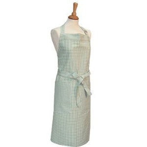 Walton & Co Auberge Apron, Duck Egg Green