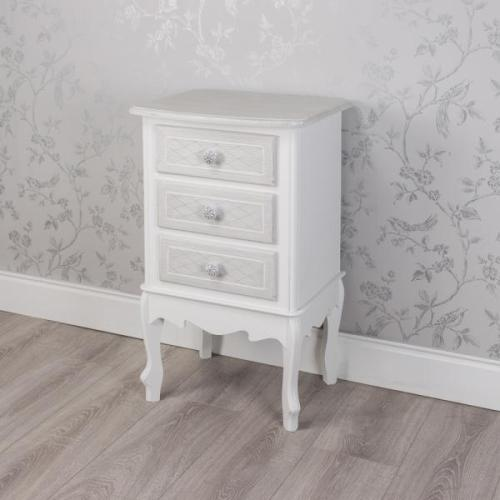 Celeste 3 Drawer Locker Grey