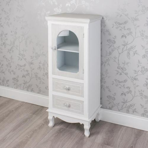 Celeste 1 Door 2 Drawer Unit, Grey
