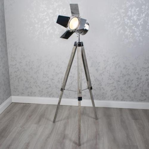 Tripod Movie Floor Lamp, 145cm