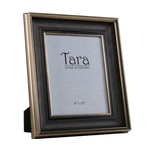 "Harper Photo Frame, 8"" x 10"", Brown/Gold"