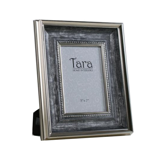 "Harper  Photo Frame, 5"" x 7"", Antique Grey"