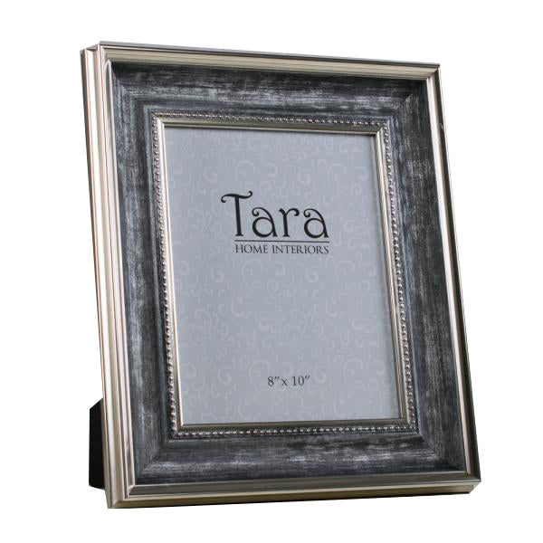 "Harper Photo Frame, 8"" x 10"", Antique Grey"