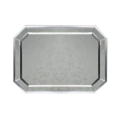 Addison Rectangular Mirror, 60cm x 90cm, Silver