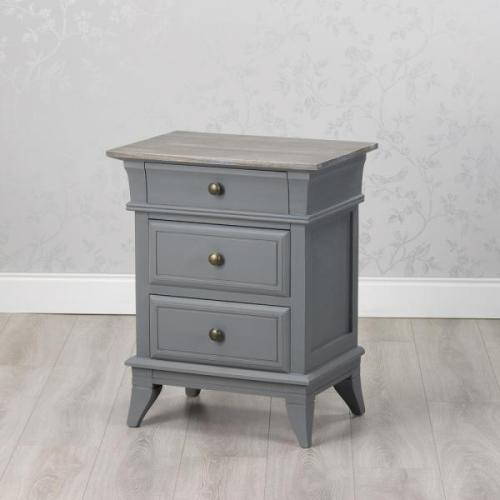 Hampton 3 Drawer Locker, Grey