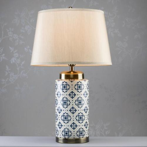 Grace Ceramic Cylinder Lamp, 75cm