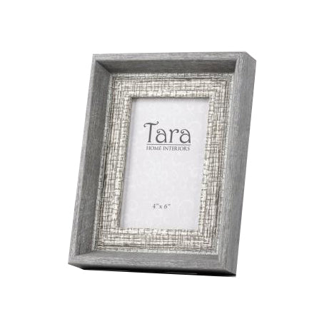 "Abigail Photo Frame, 5"" x 7"", Grey**LIMITED STOCK**"