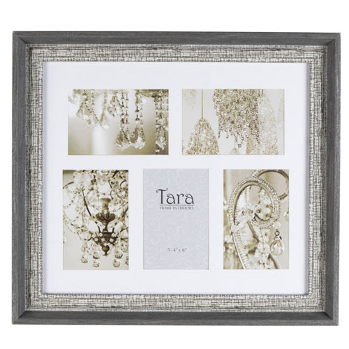 "Abigail Collage Photo Frame, 5 4"" x 6"", Grey**LOW STOCK**"