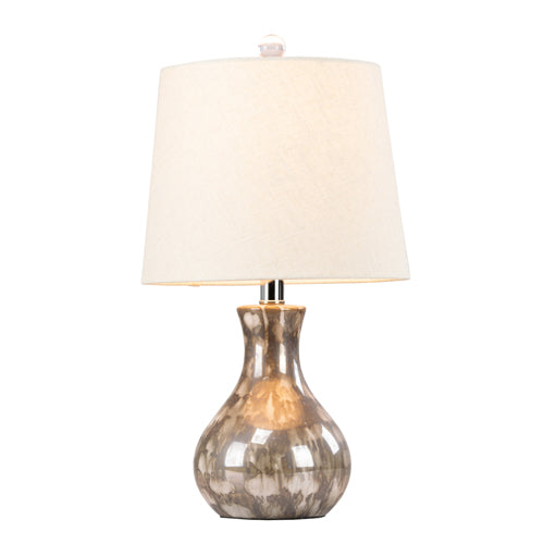Lela Ceramic Lamp With Crystal Base, 51cm**LOW STOCK**