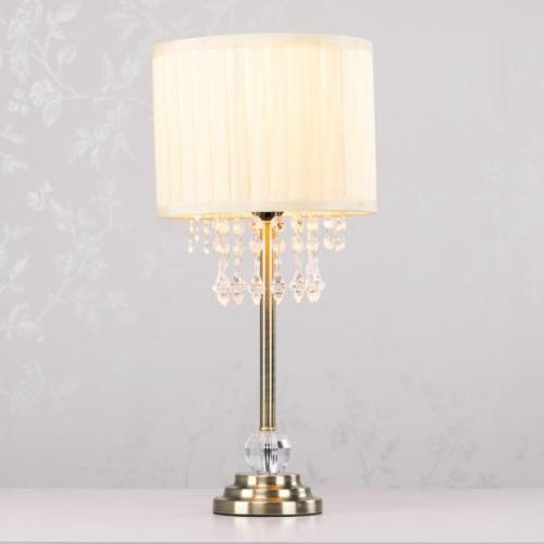 Georgia Table Lamp, 47cm, Bronze