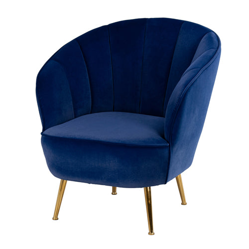 Kendall Accent Chair, Royal Blue