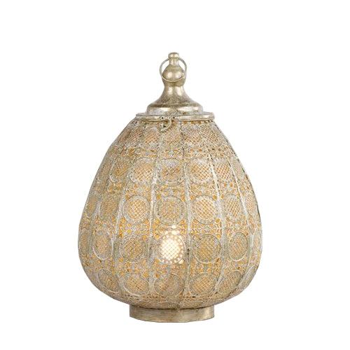 Amira Table Lamp, 50cm, Gold