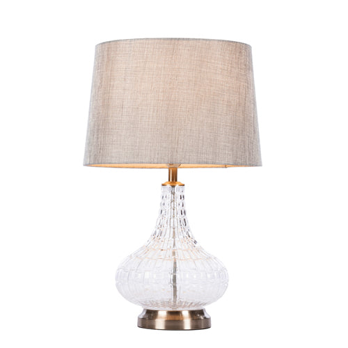 Lana Bulb Table Lamp, 63cm, Charcoal