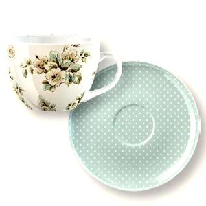 Katie Alice Cottage Flower Breakfast Cup and Saucer