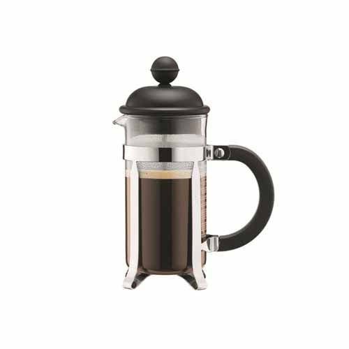 Bodum Caffettiera  French Press Coffee Maker, 3 Cup, Black