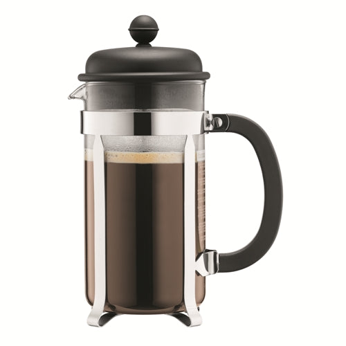 Bodum Caffettiera  French Press Coffee Maker, 8 Cup, Black