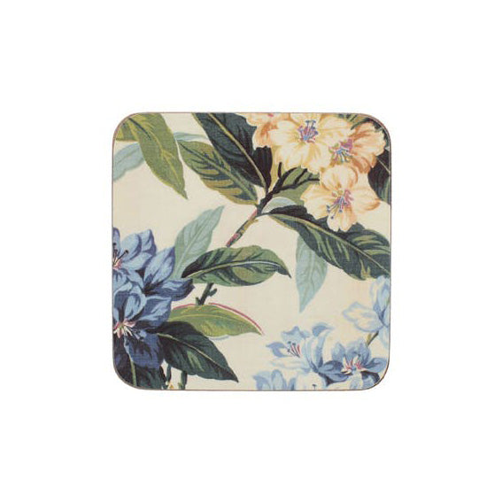 Creative Tops Premium Traditional Floral Coasters, Set Of 6
