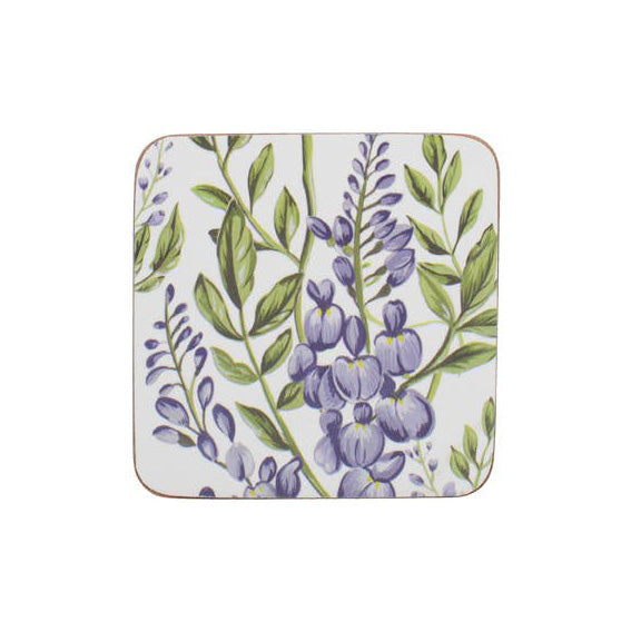 Creative Tops Premium Wisteria Coasters, Set Of 6
