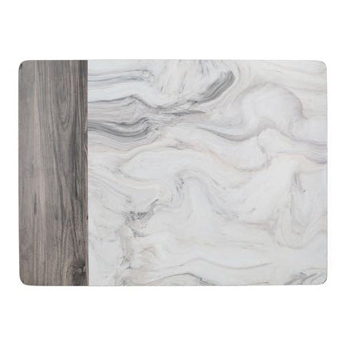Creative Tops Marble Design Placemats, Pack Of 6