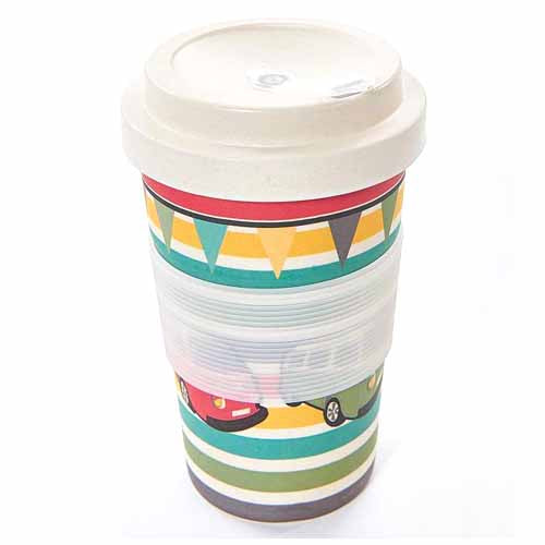 ECO CHIC BAMBOO REUSABLE COFFEE CUP, CAMPERVANS
