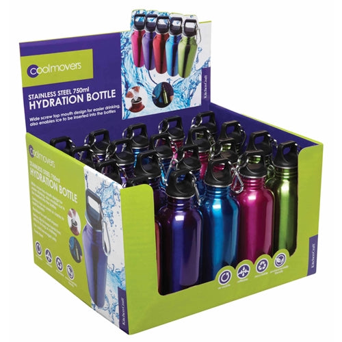 Coolmovers Sports/Hydration Bottle, Assorted Colours