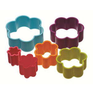 Colourworks Flower Shaped Cookie Cutter Set