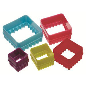 Colourworks Square Cookie Cutter Set