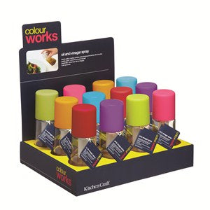 Colourworks Pump Action Mist Sprayer, Assorted Colours