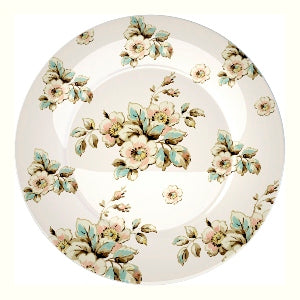 Katie Alice Cottage Flower Porcelain Side Plate, Cream