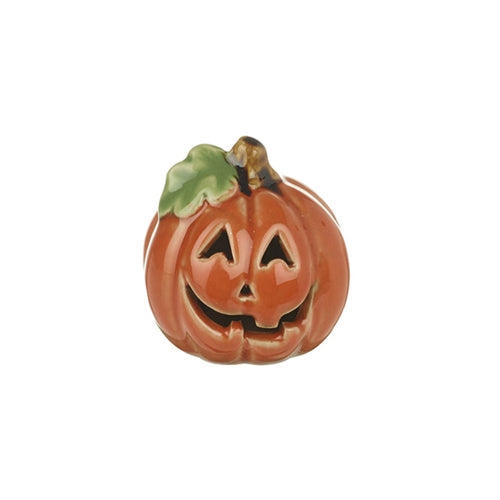 Halloween Ceramic Pumpkin Cut Out Lantern, 5cm