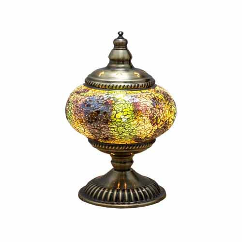 Moroccan Mosaic Table Lamp, 17.5cm