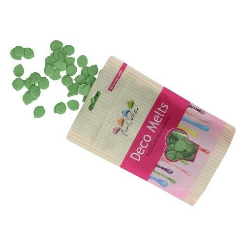 FUNCAKES DECO MELTS, 250g, GREEN